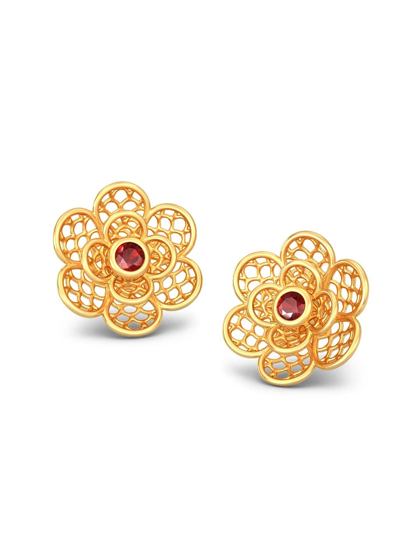 Earrings In Gold Gold Earring - TrendEarrings