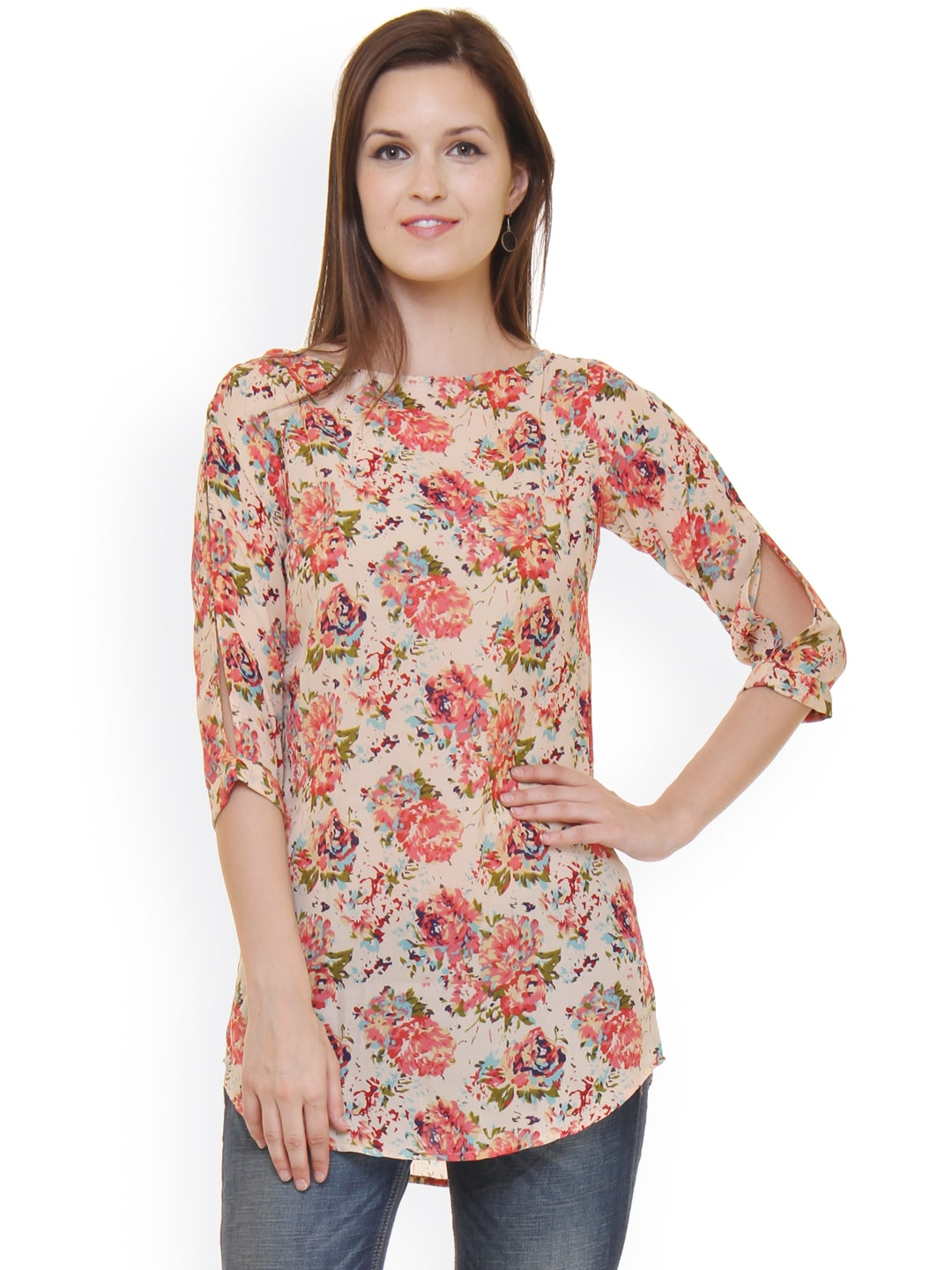 aa6fb01f617842 Tunics for Women - Buy Tunic Tops For Women Online in India