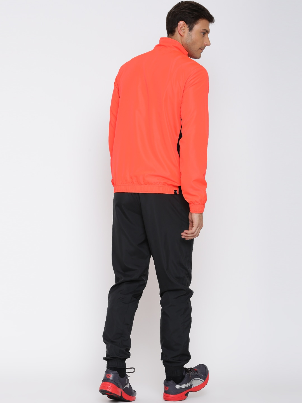 puma tracksuit orange