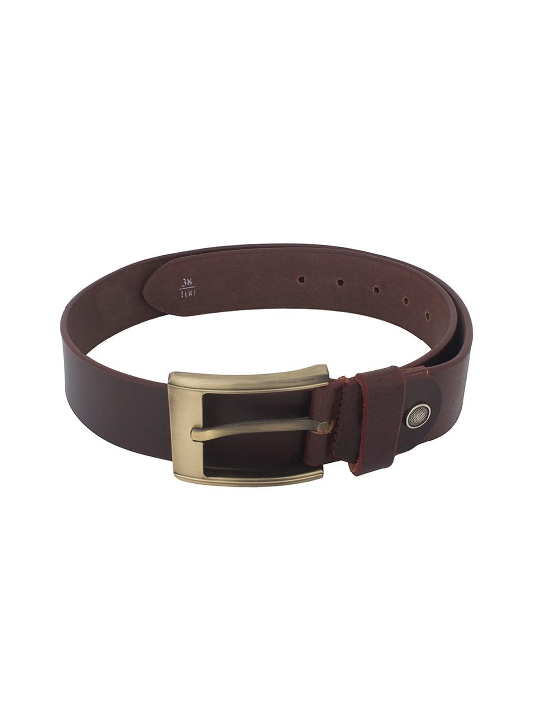 CHISEL Men Brown Leather Belt
