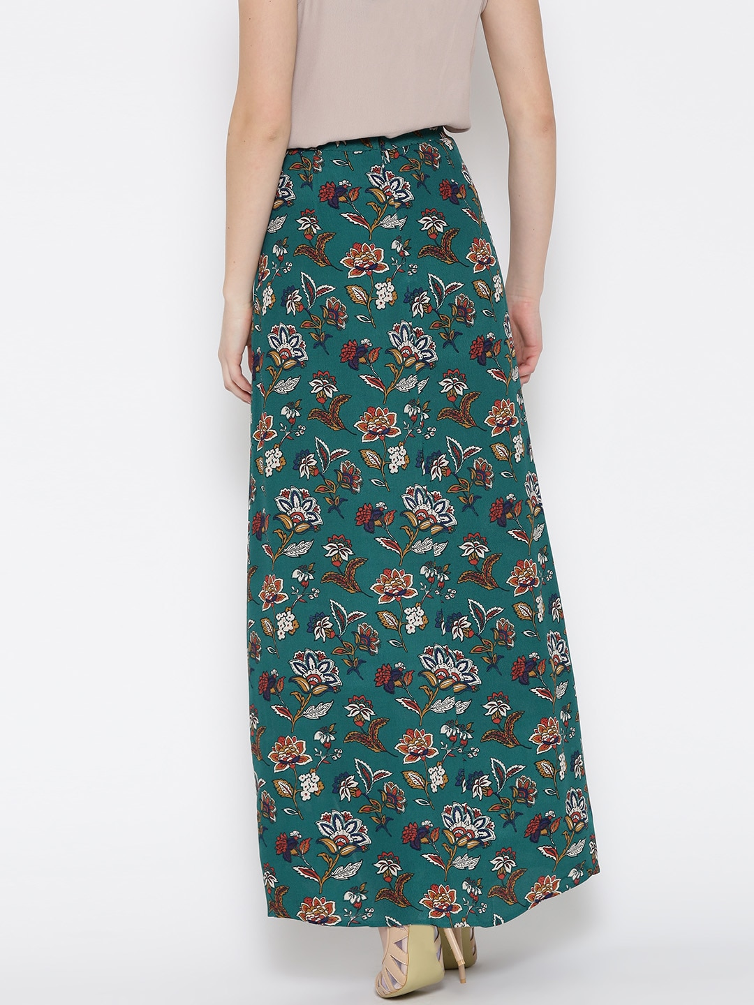 Wrap Around Long Skirt Dress Ala