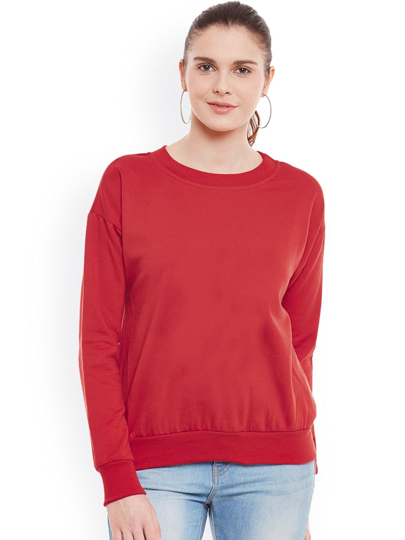 Red Sweatshirts - Buy Red Sweatshirts online in India bcbad9d45d