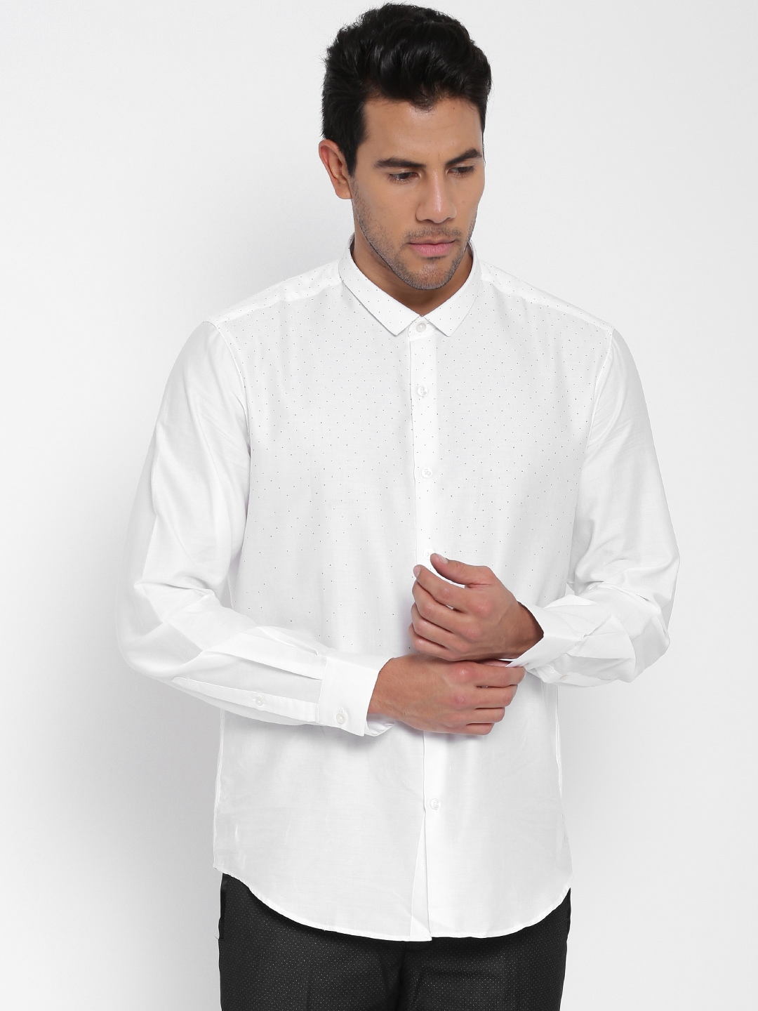 cc6fbf8d7f2 White Party Shirts - Buy White Party Shirts online in India