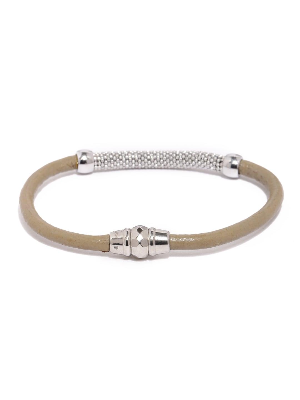 Fossil Grey & Silver-Toned Bracelet