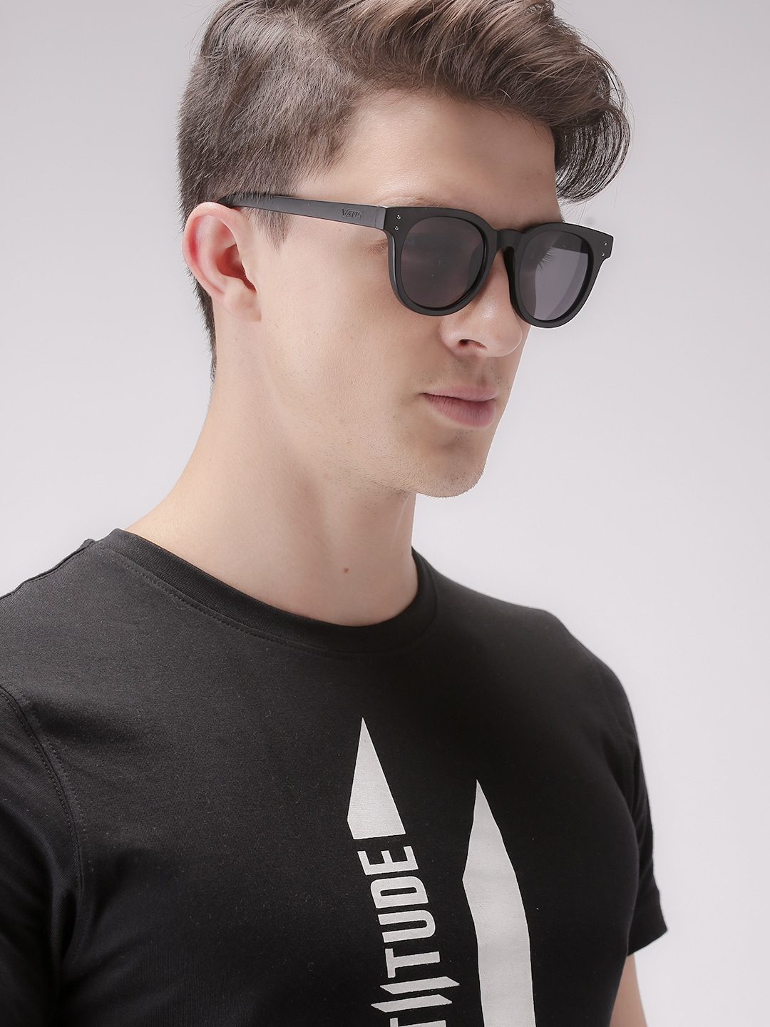 Men Round Sunglasses  vans men round sunglasses vn0005yoblk1 sunglasses for men