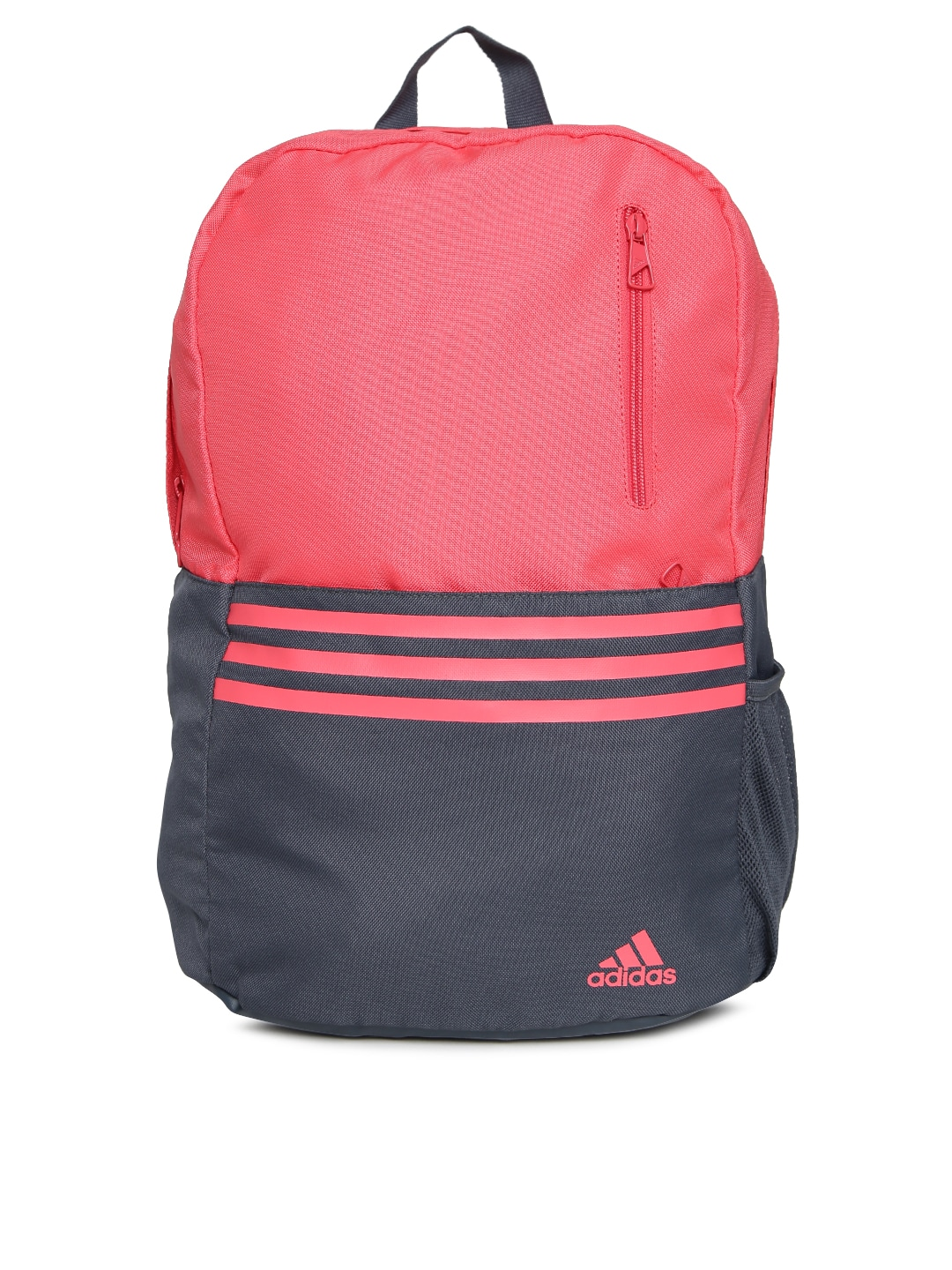 pink backpack adidas