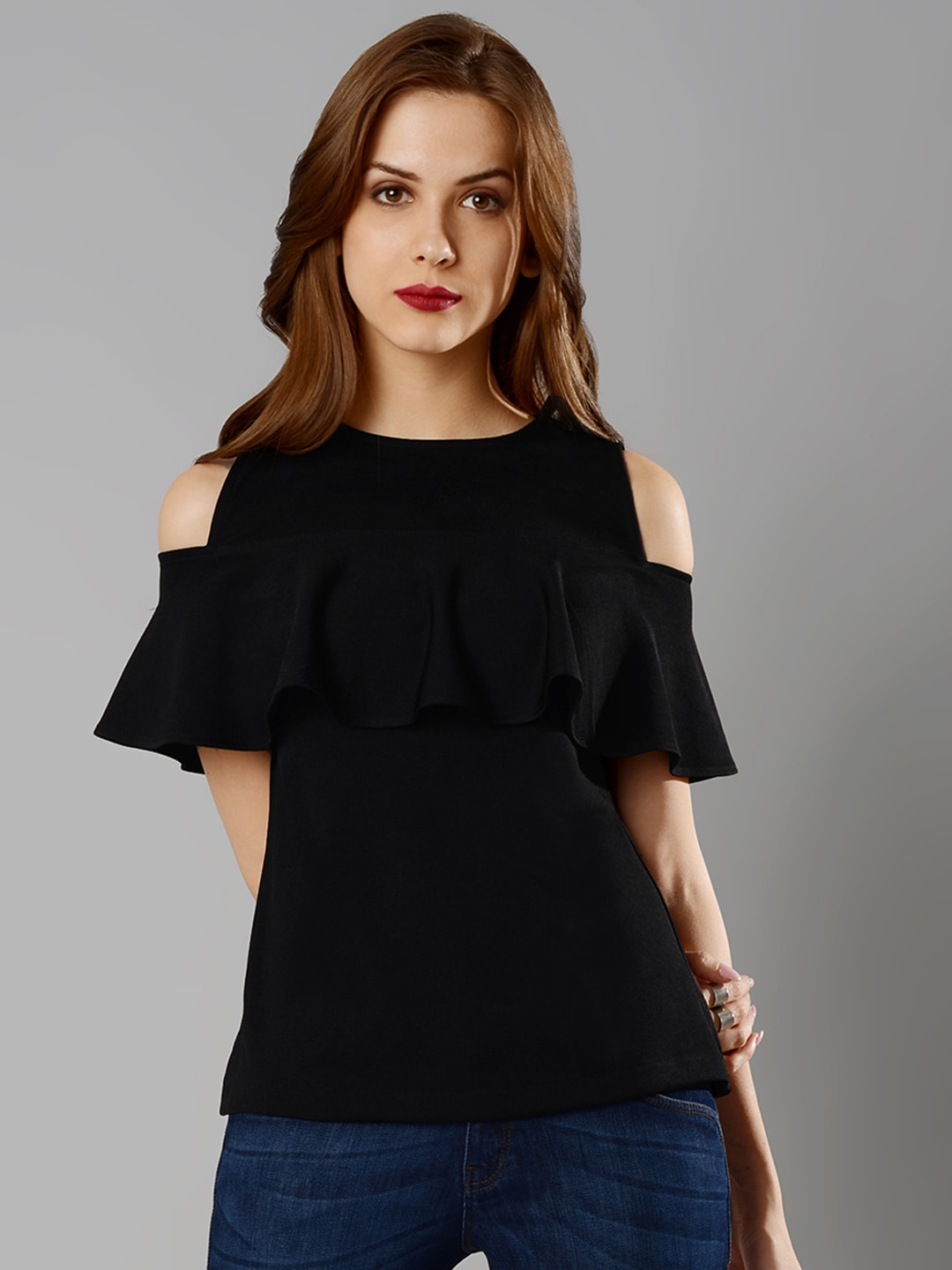 0be84c9f7bb2cb FabAlley Top - Buy FabAlley Tops Online in India