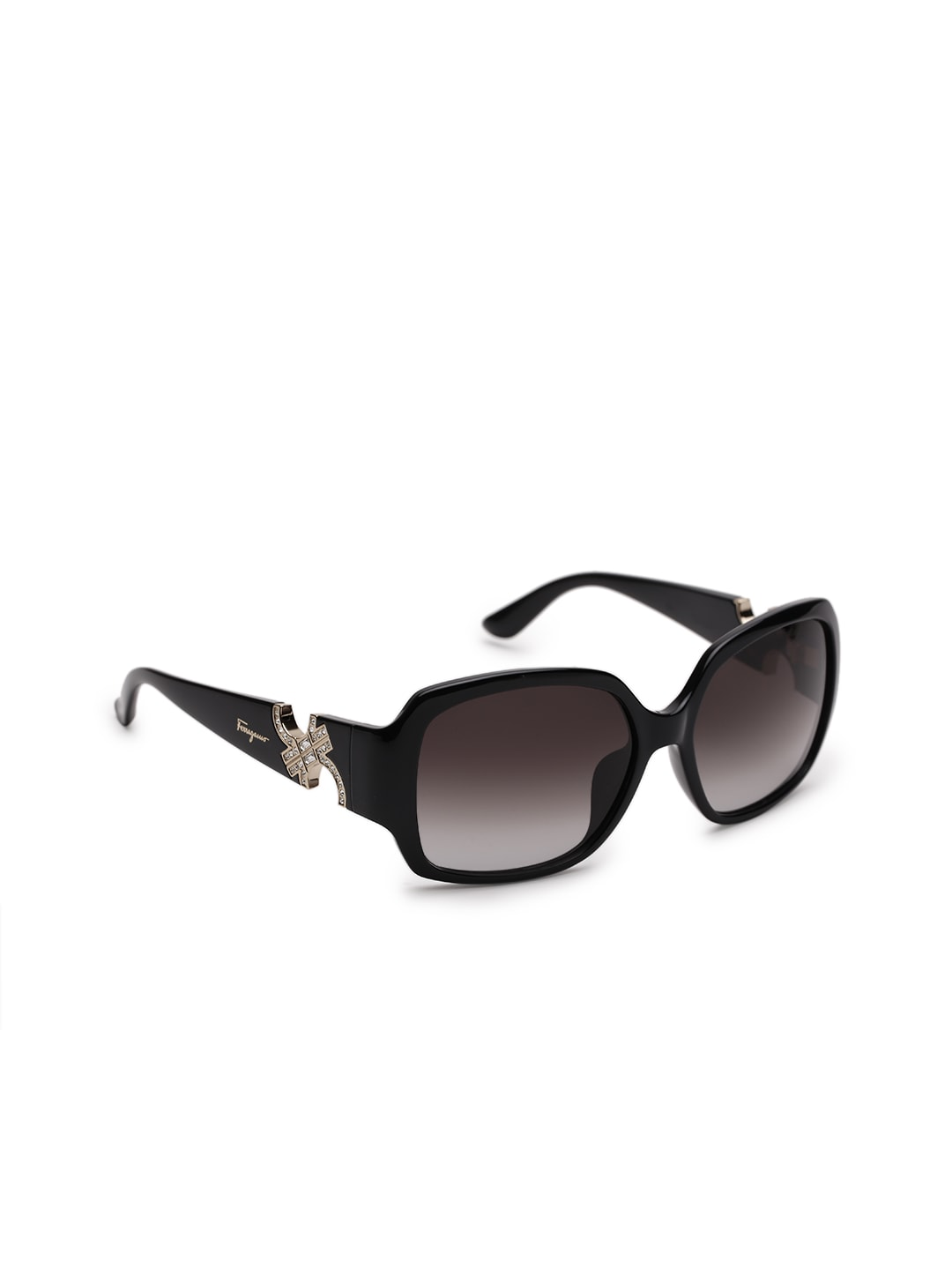Salvatore Ferragamo Women Square Sunglasses SF642SR 001