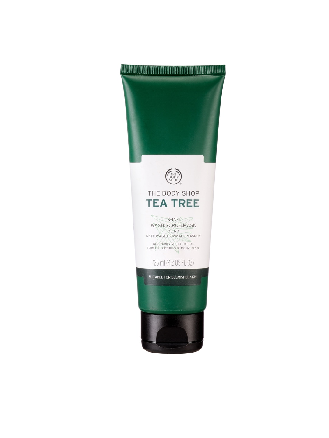 THE BODY SHOP Aloe Tea Tree 3 in 1 Wash, Mask & Scrub