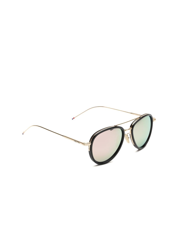 Hello Kitty Women Mirrored Oval Sunglasses HK-1789_C2