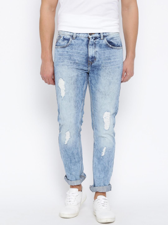 White Colour Jeans - Xtellar Jeans