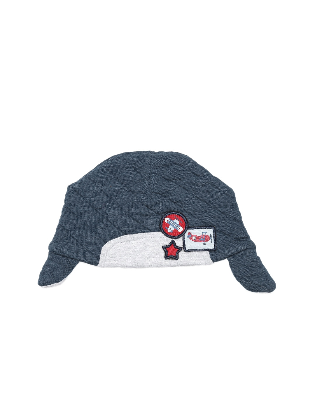 mothercare Boys Navy Quilted Cap