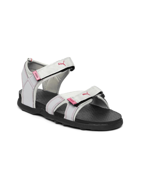 Puma Women Grey Pink Sports Sandals - Buy Puma Women Grey Pink Sports  Sandals online in India b72a05add2