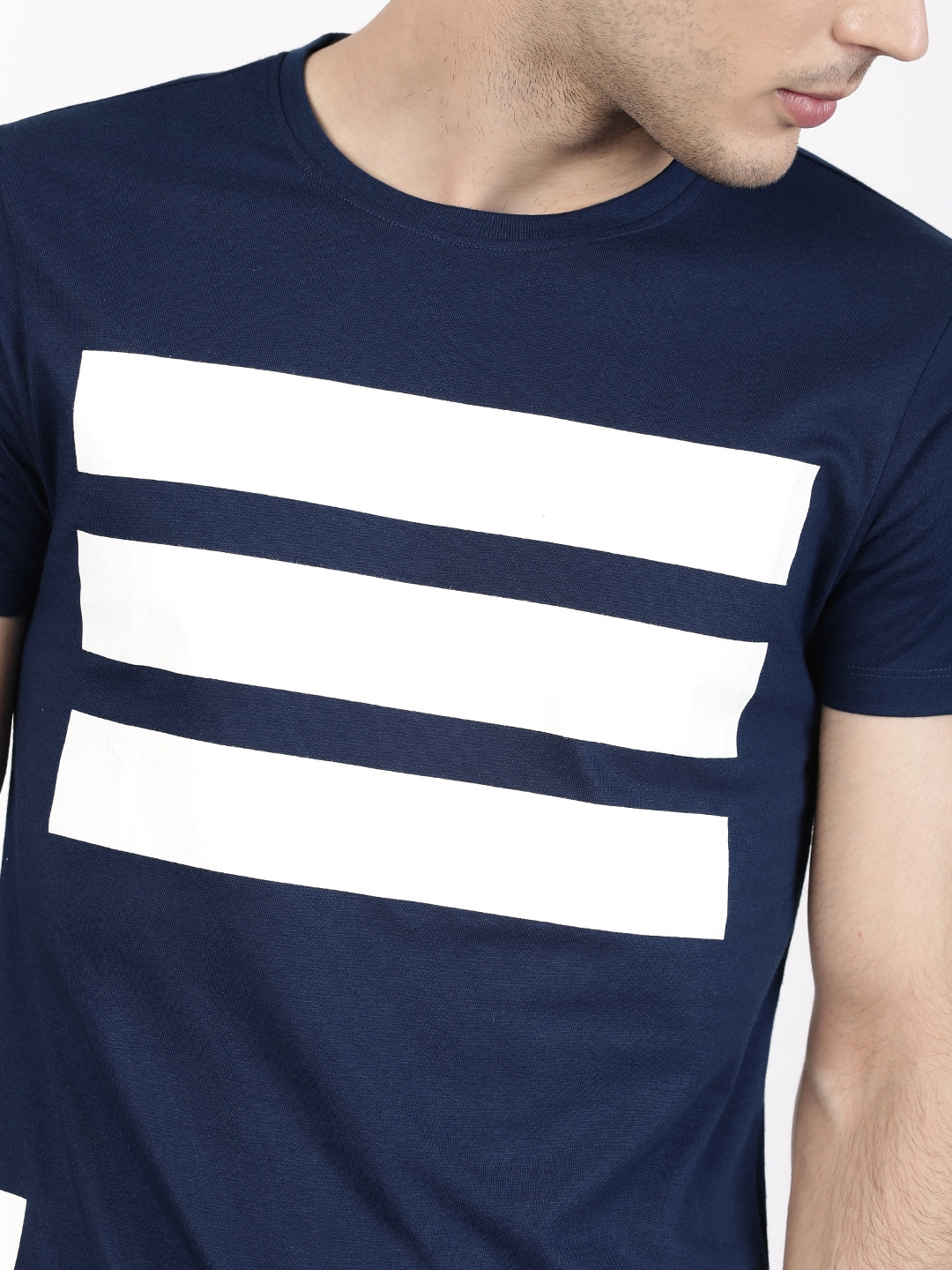 15cb10c2f67 Navy Blue T Shirt Front And Back