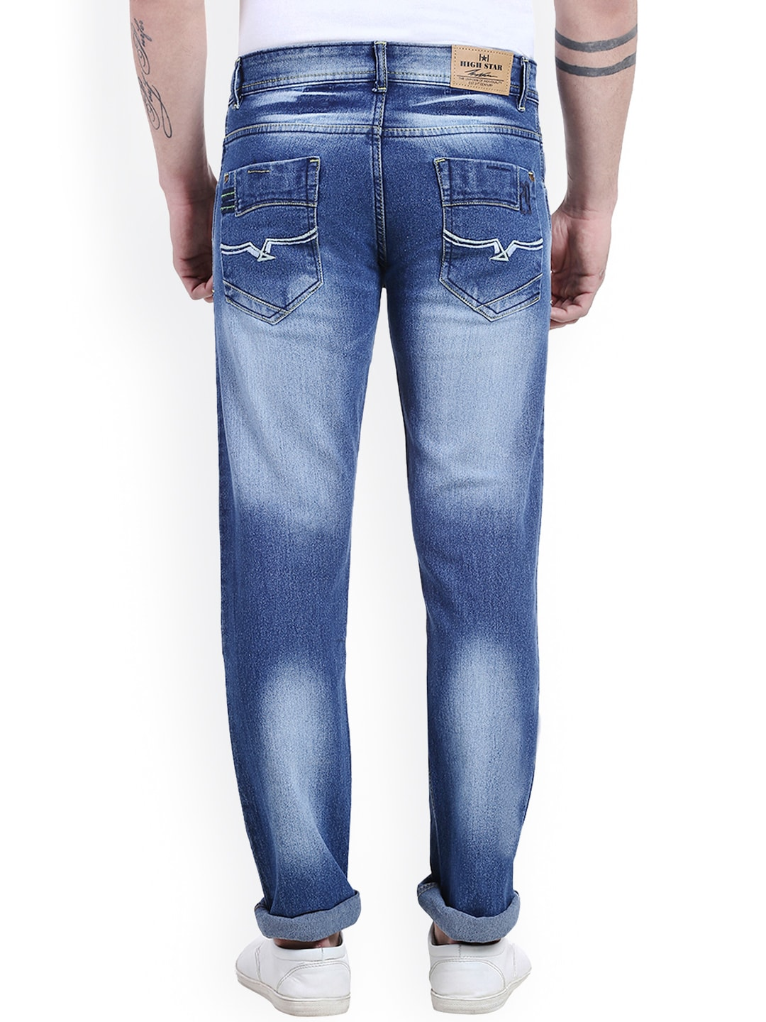 High Waisted Jeans Men - Xtellar Jeans