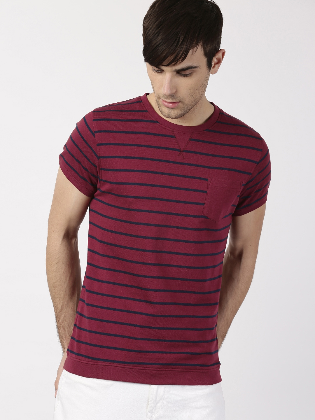 560cb40efe Ether Striped Tshirts - Buy Ether Striped Tshirts online in India