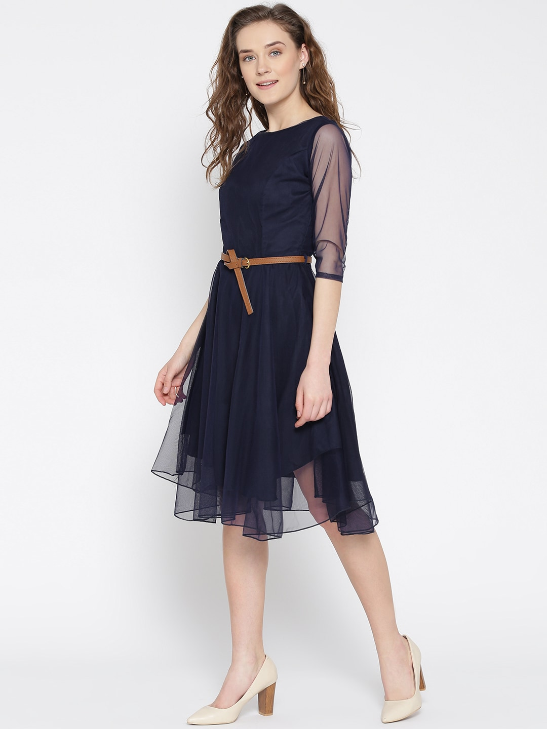 one piece dresses below knee length wwwimgkidcom the