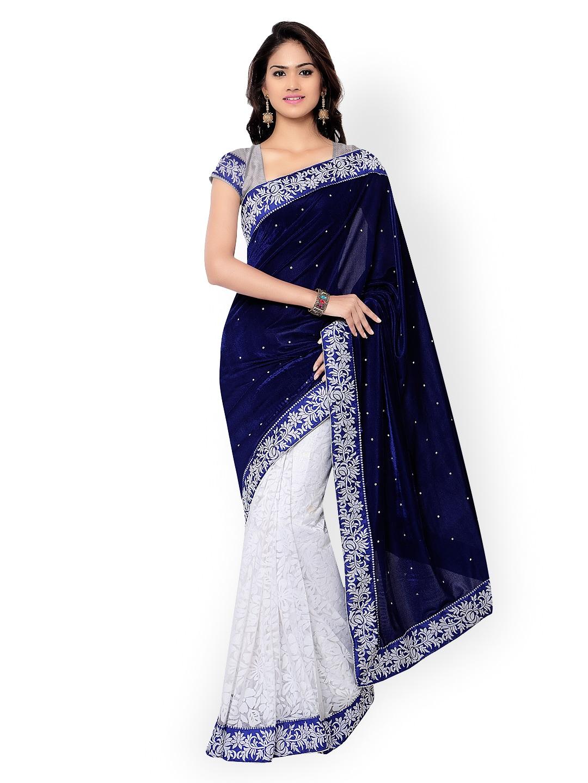 89a09b1ccb Florence Sarees Saree - Buy Florence Sarees Saree online in India