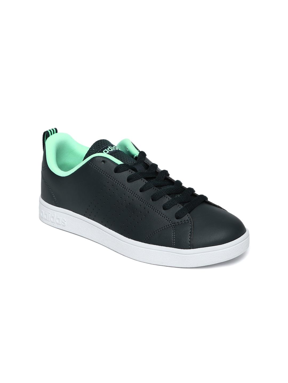 adidas Neo Cloudfoam Race Sneaker Black/Black/White