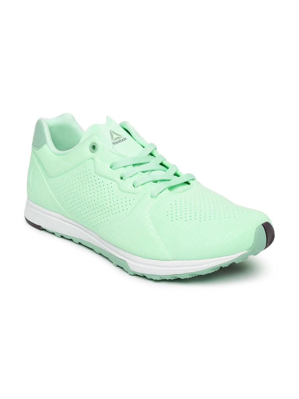 online store beb56 872aa reebok realflex mint green