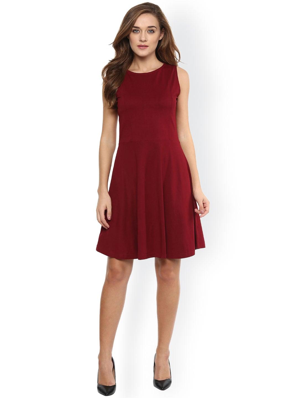 Maroon Dress Buy Maroon Dresses Online In India At Best Price