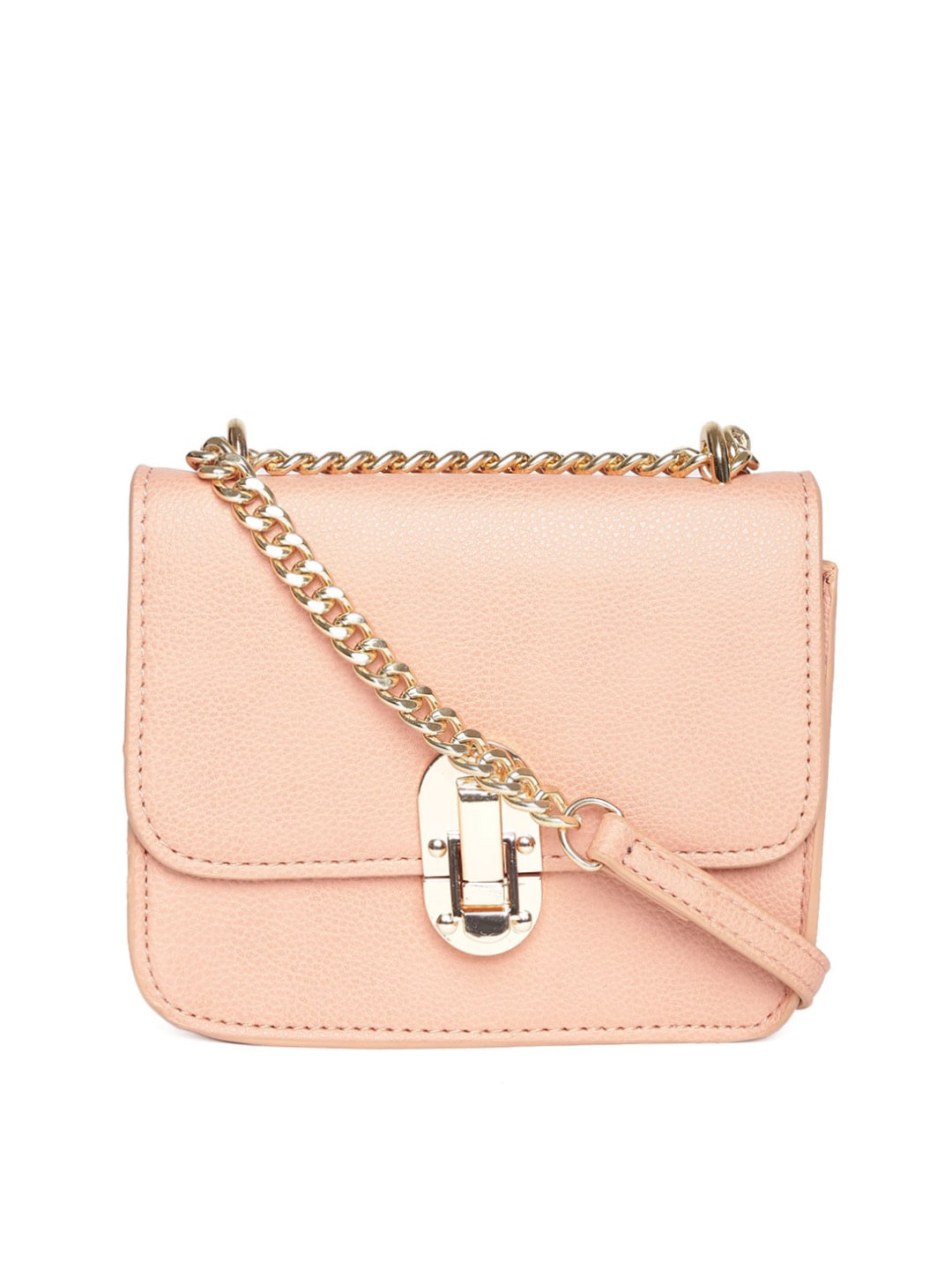 Buy MANGO Nude Coloured Sling Bag - Handbags for Women | Myntra