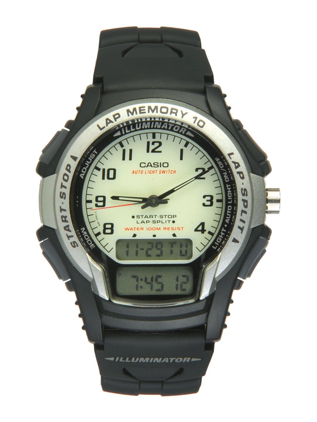 get 15 on casio unisex analog black analog digital