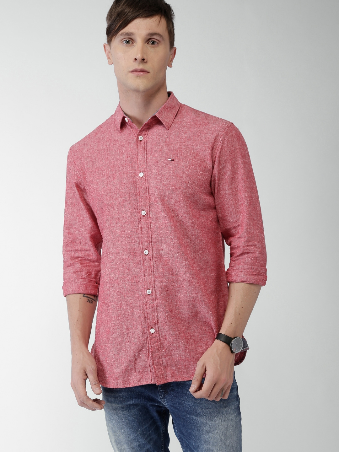 67069d194f Tommy Hilfiger Casual Shirts Online India