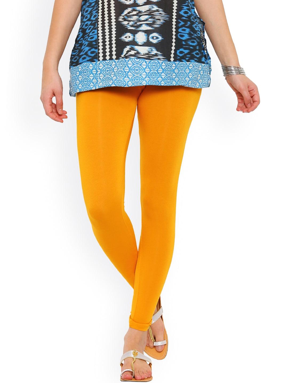 d214367d7e65f De Moza Yellow Leggings - Buy De Moza Yellow Leggings online in India