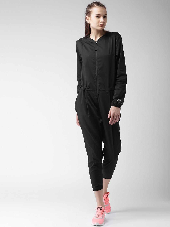black nike jumpsuit