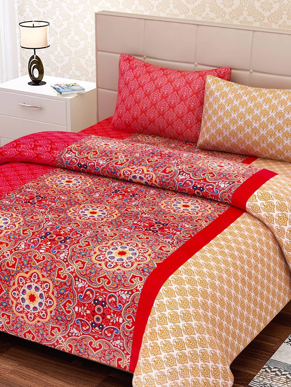 Bedsheets Buy Single Double Bedsheets Online Myntra