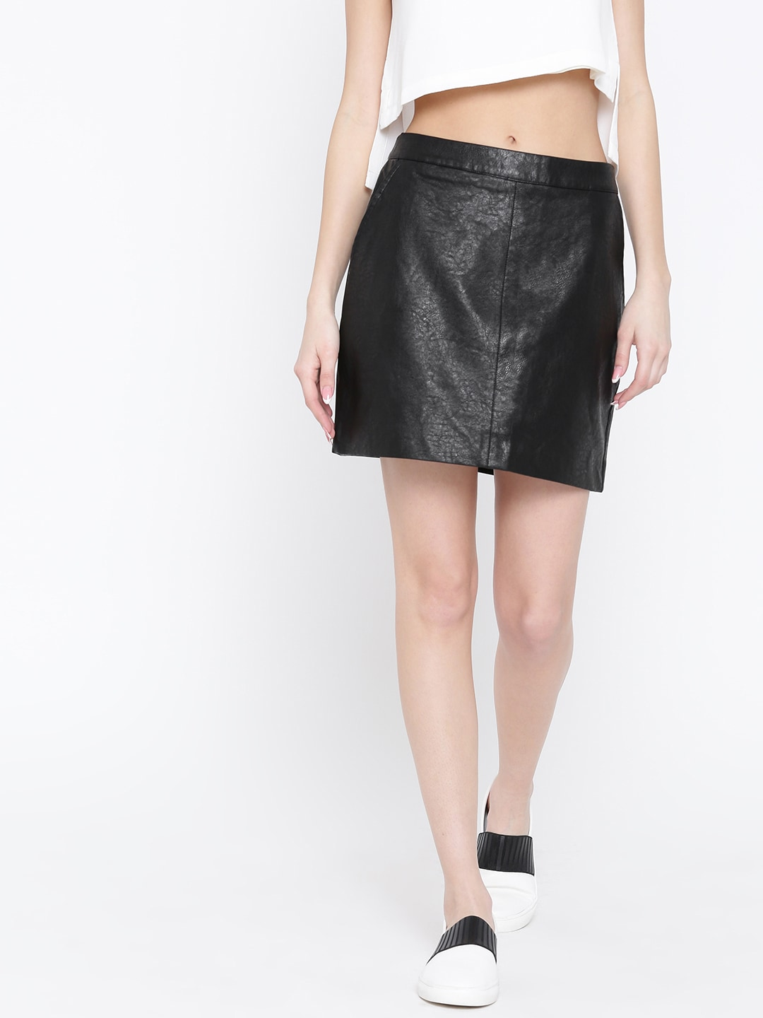 Leather Skirt - Buy Leather Skirt online in India