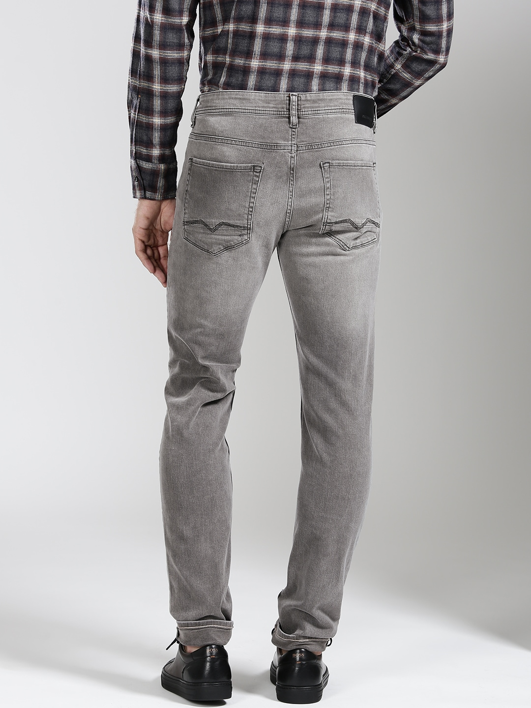 Grey Jeans - Buy Grey Jeans Online in India