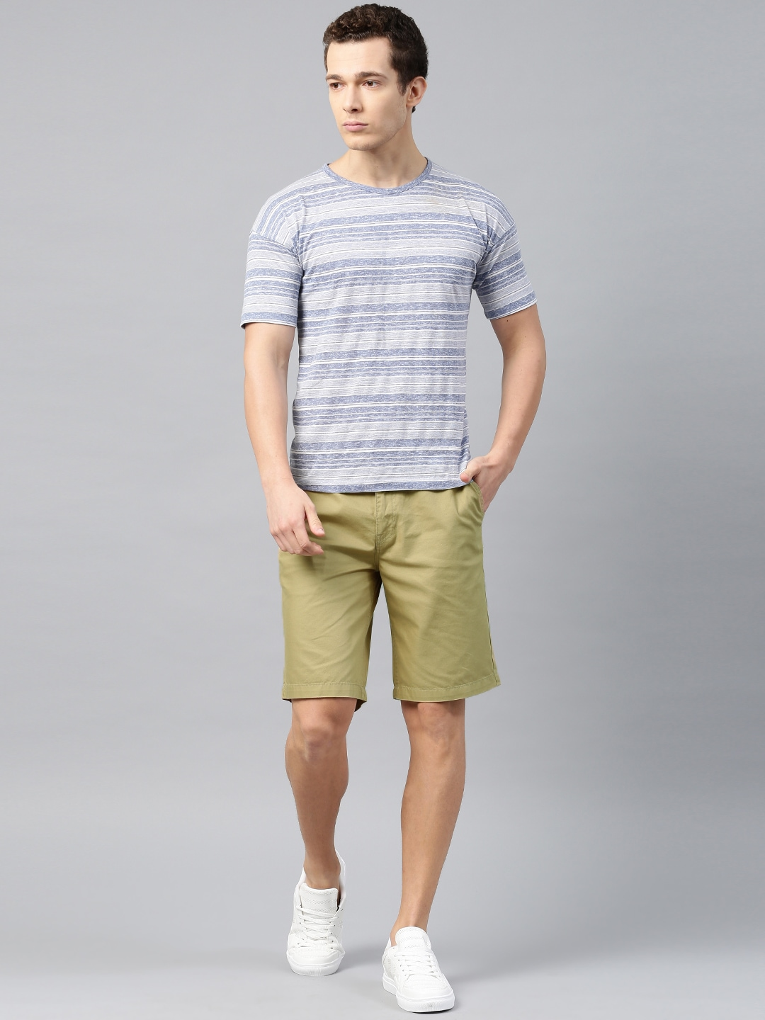 Khaki Shorts - Buy Khaki Shorts Online in India