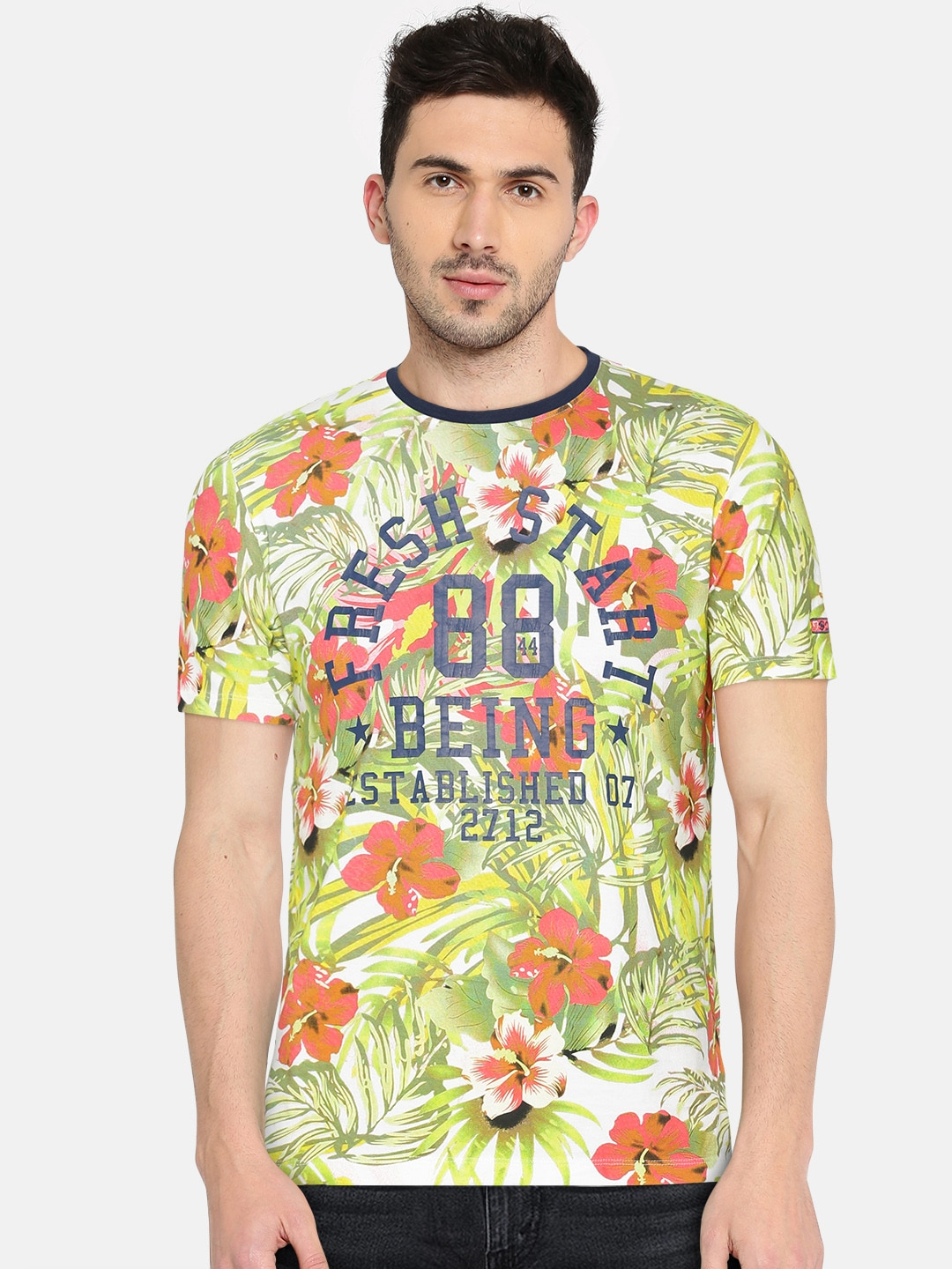 e54c9a5c5 Men T-shirts - Buy T-shirt for Men Online in India