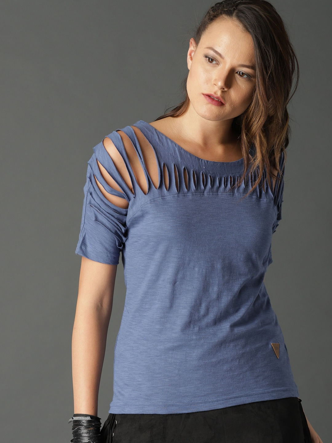 af6d0a6e565bcf Cut Out Tops - Buy Cut Out Top Online in India