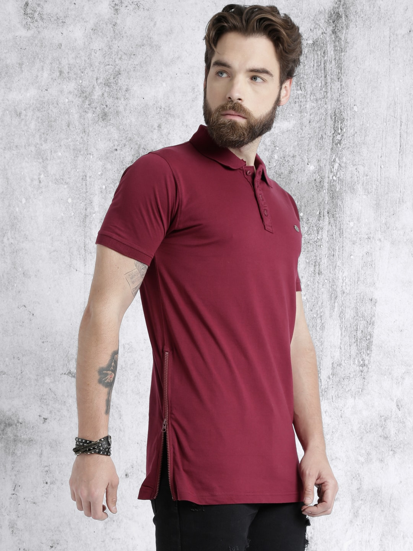 Longline Polo Shirt Mens Chad Crowley Productions