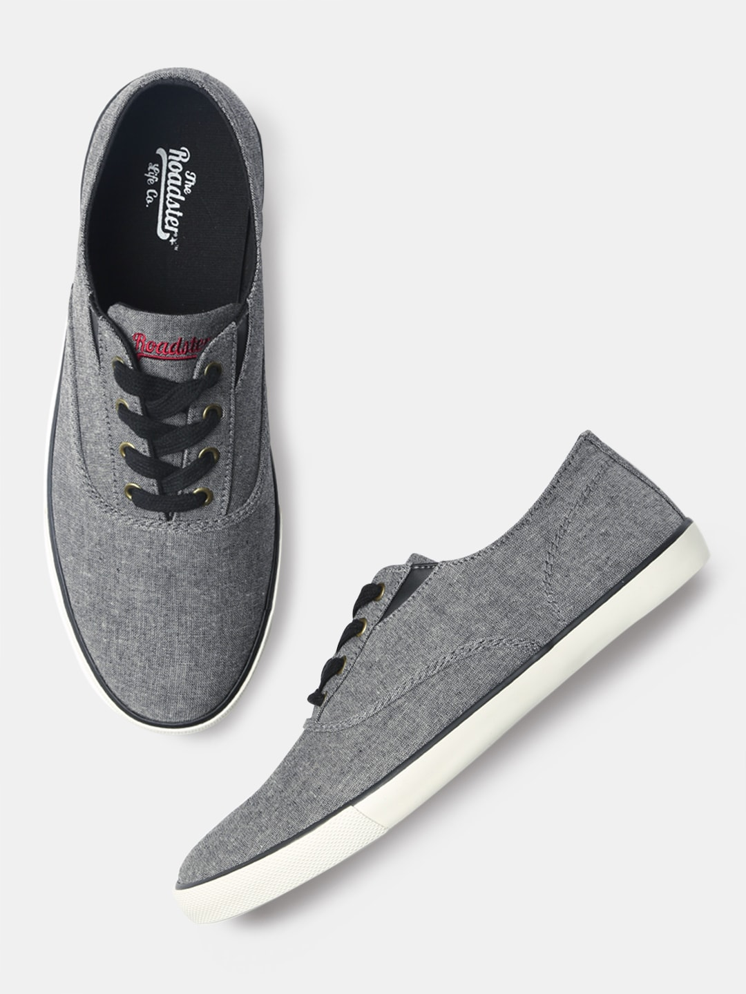 395bd30eb817 Grey Casual Shoes - Buy Grey Casual Shoes Online in India