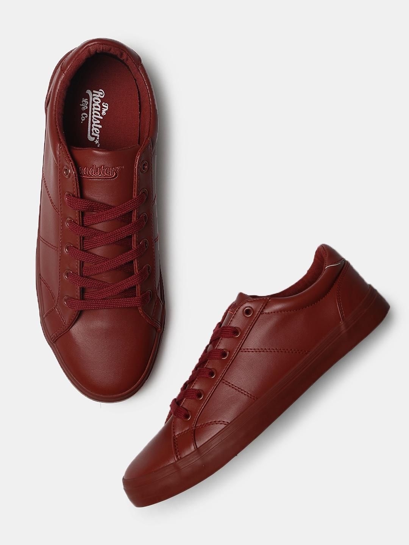4b689dc74ea3a9 Maroon Casual Shoes Heels - Buy Maroon Casual Shoes Heels online in India