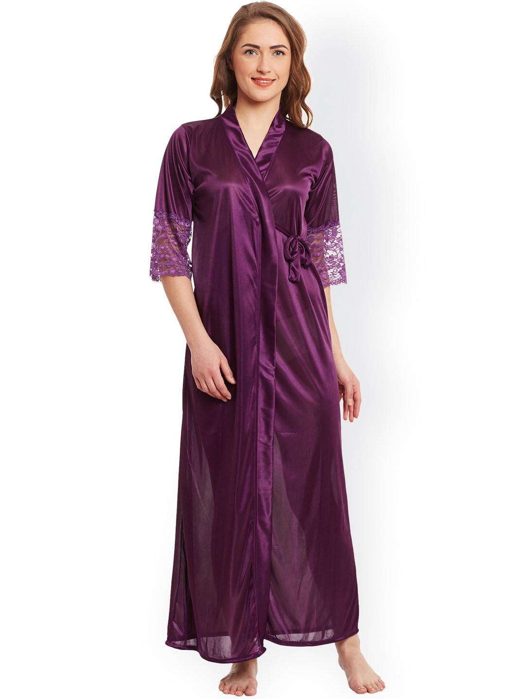 ea7e6ec997 Women Nightwear Robe - Buy Women Nightwear Robe online in India