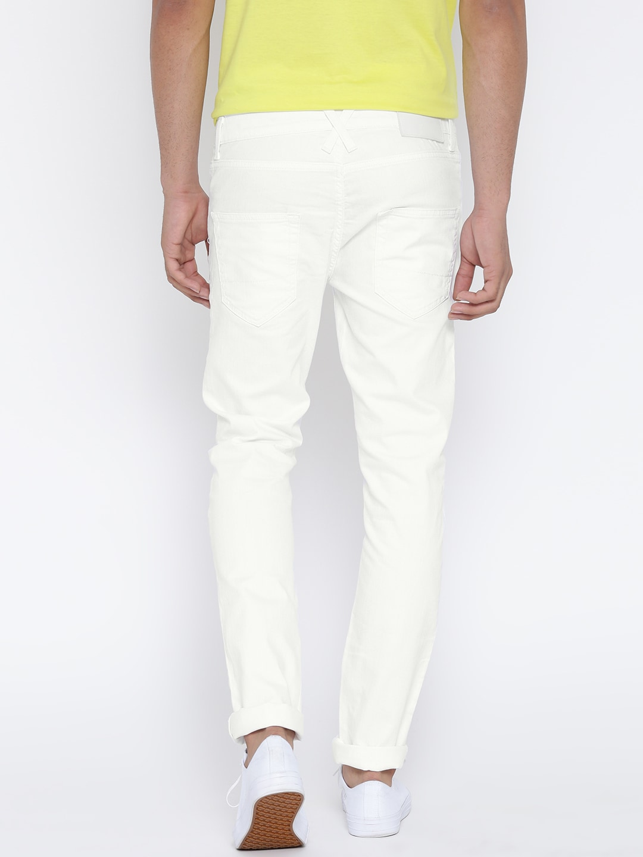 white jeans buy online - Jean Yu Beauty