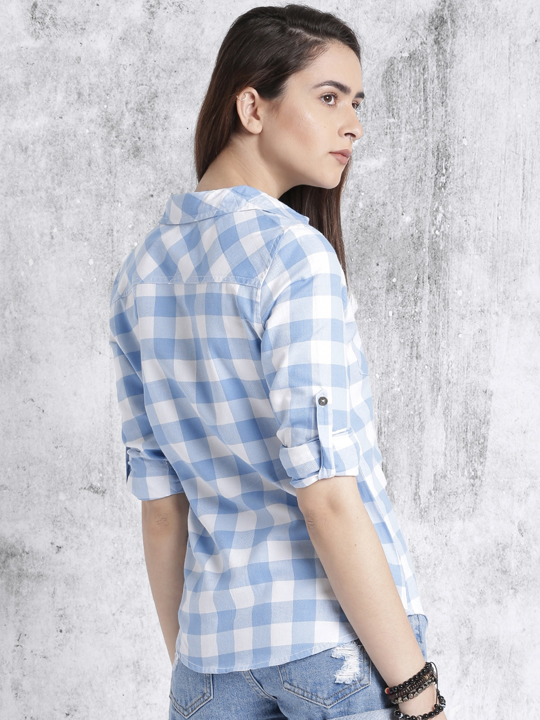 Check Shirts for Women - Buy Ladies Check Shirts Online - Myntra