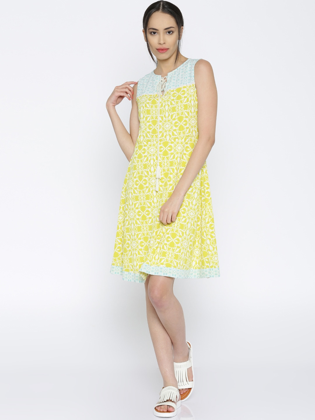 4197a770d192 Lime Green Dresses - Buy Lime Green Dresses online in India