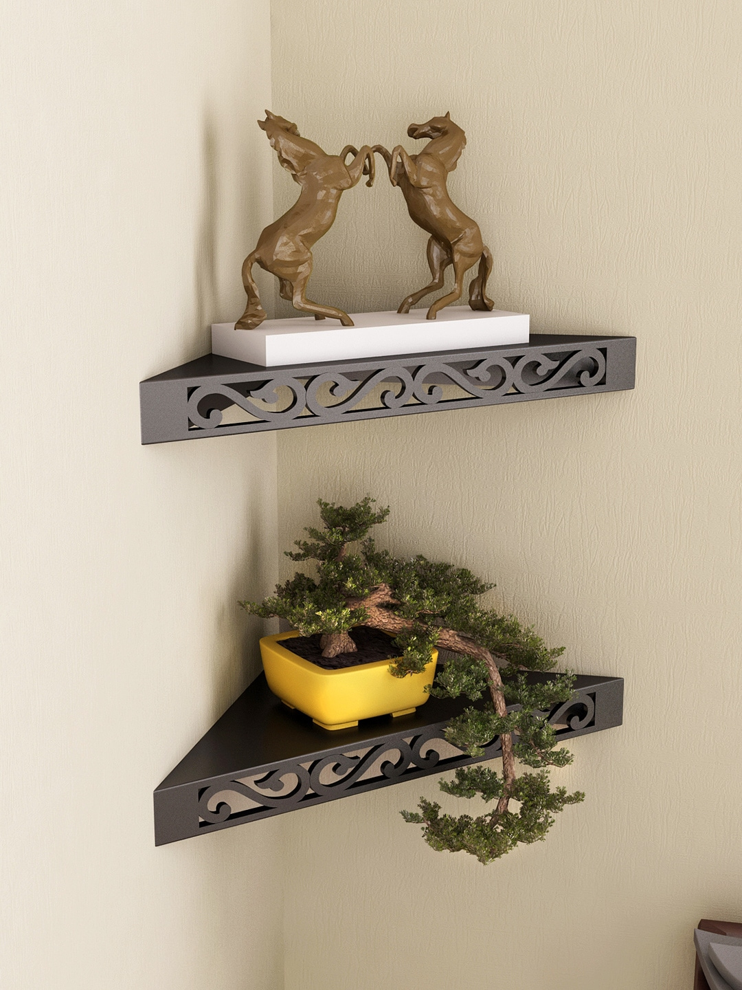 wall shelves buy wall shelf online at best prices myntra