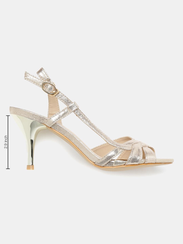 Catwalk Gold Heels - Buy Catwalk Gold Heels online in India