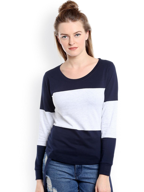 Women Long Sleeve Tshirts - Buy Full Sleeve Tshirts for women online -  Myntra 8a211ffcd0f