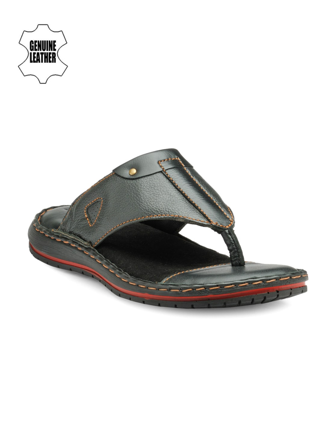 0bc0c1ea66e51f Men Black Casual Sandal - Buy Men Black Casual Sandal online in India