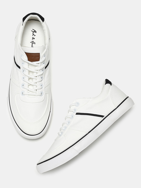Mast \u0026 Harbour Men White Sneakers 1806984