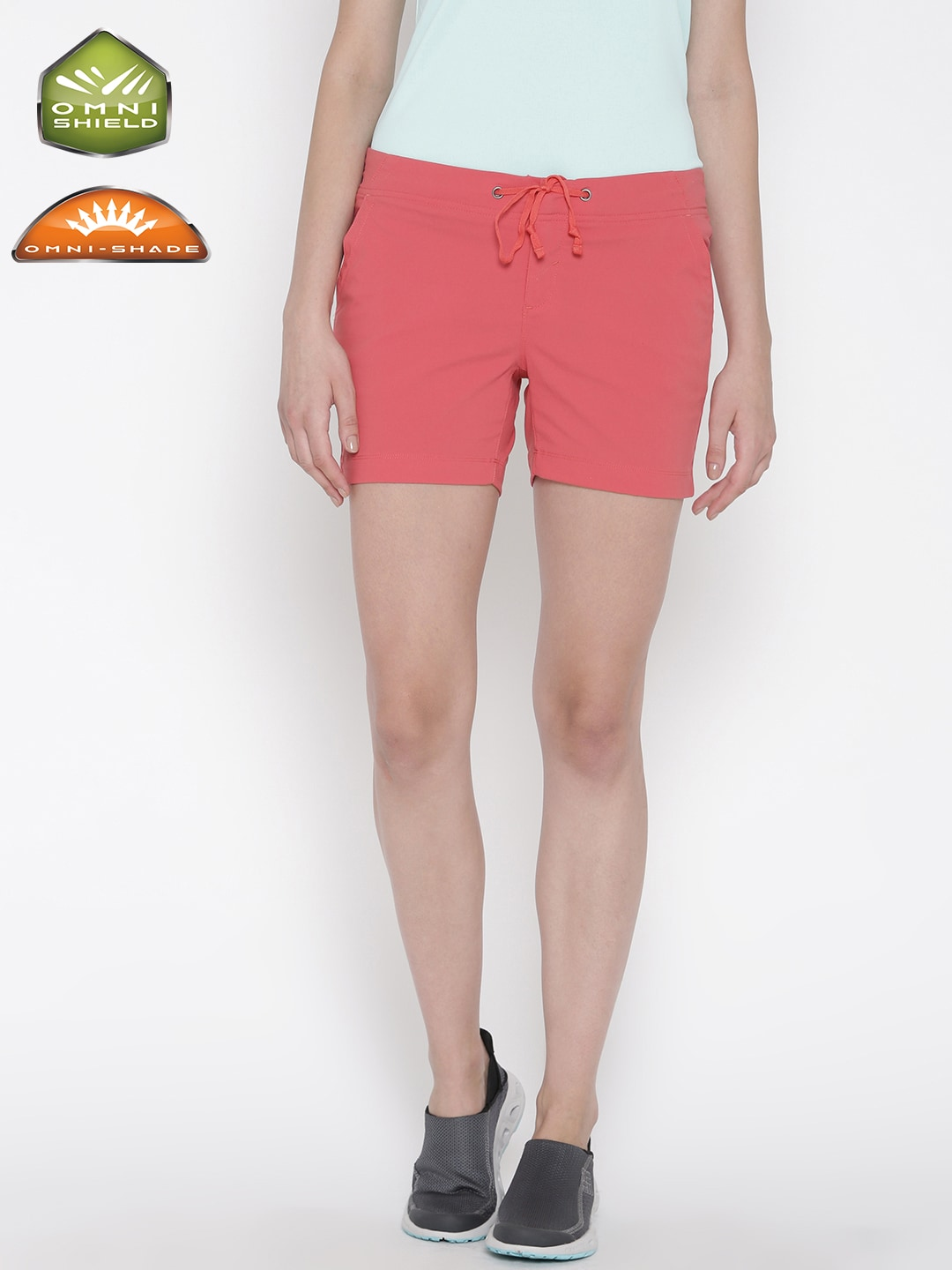 1699a910cb Columbia Women Coral Pink Outdoor UV protected Stain Resistant Running &  Training Short