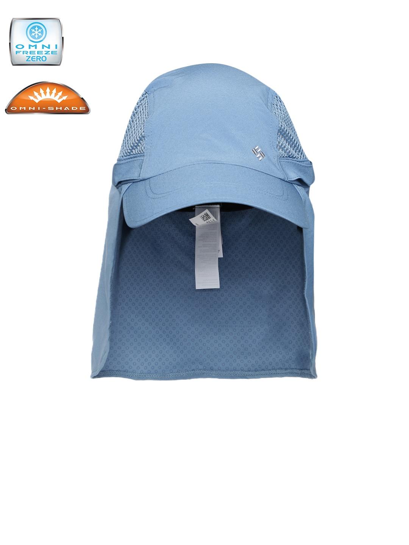 66a50a89c3e62 Columbia Unisex Blue Coolhead Cachalot Safari Cap